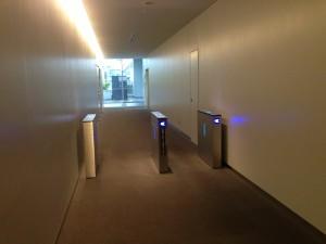 東京電機大学のセキュリティーゲート