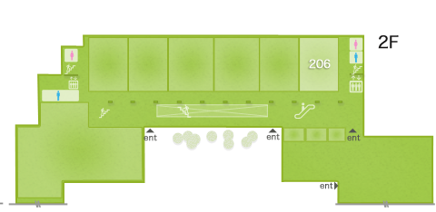 abc2013 spring floorMap 2F